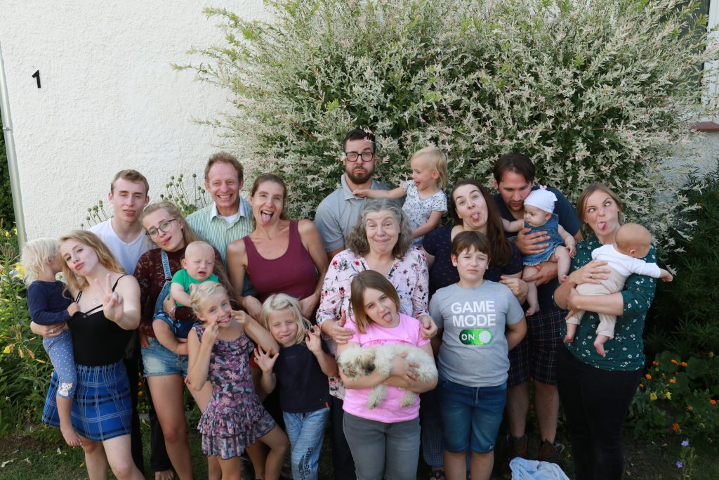 Familien Shooting zum Geburtstag der Oma