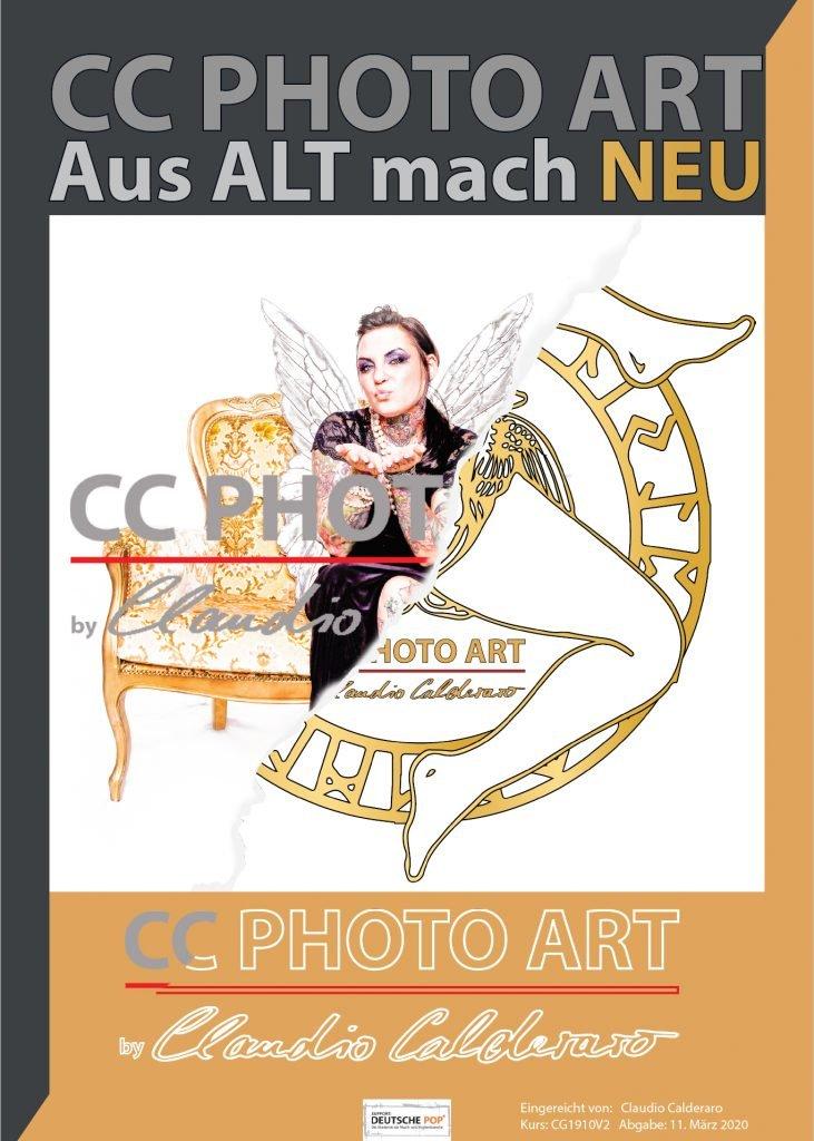 Aus alt mach Neu.... CC PHOTO ART das neue Logo entsteht !