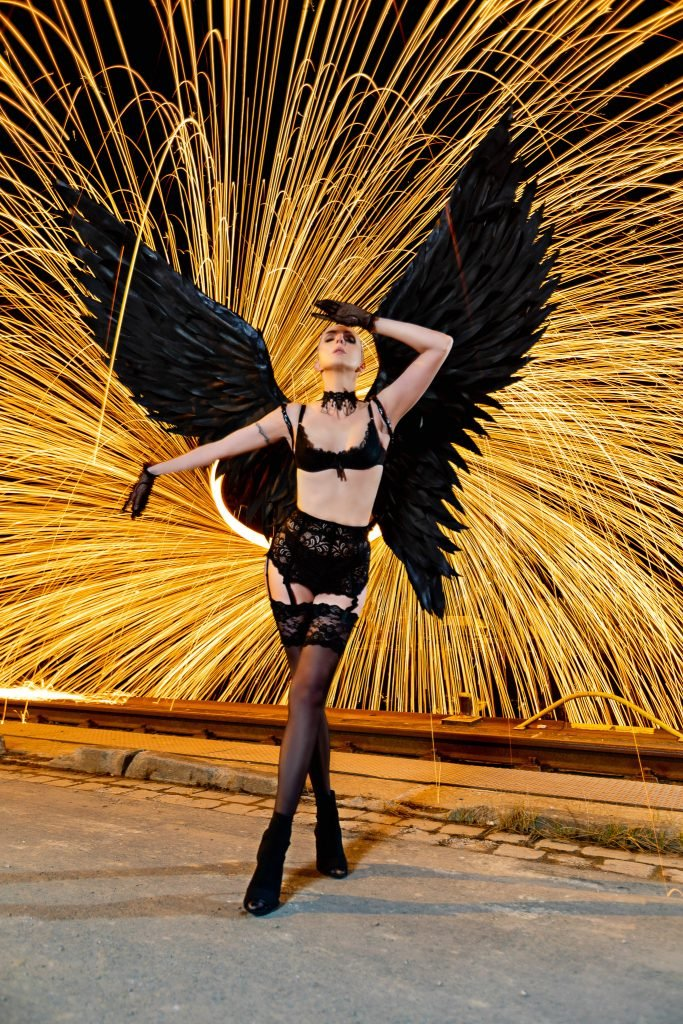Anna Black Angel Shooting am Lindener Hafen