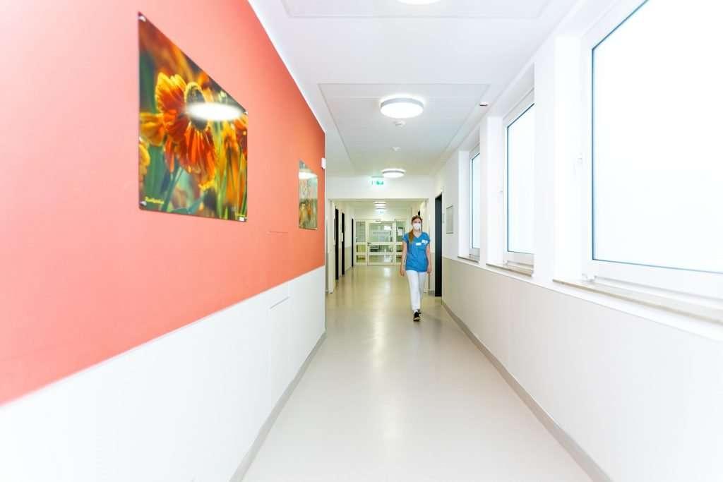 Shooting für das Klinikum Region Hannover Standort Agnes Karll Laatzen